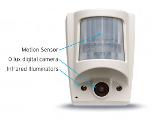 Wireless 16 Camera Motion Detector Security Systems