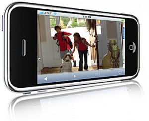 iphone security camera systems. Black Bedroom Furniture Sets. Home Design Ideas