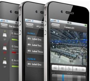 Smartphone Video Surveillance