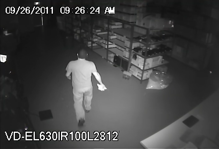 Common Problems With IR Reflection In Dome Security Cameras