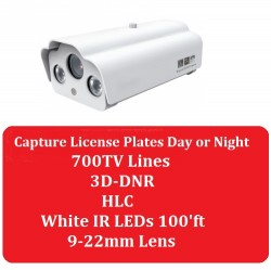 700tvl License Plate Capture Security Camera