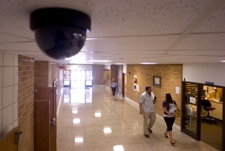 Where To Install Surveillance Cameras In A School