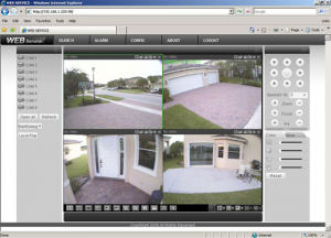 Viewing DVR Live Over The Internet
