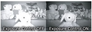 IR exposure control