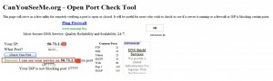 open port check tool