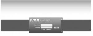 web service login