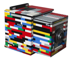 lego security camera housing