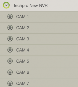 TechproSS Cams Screenshot