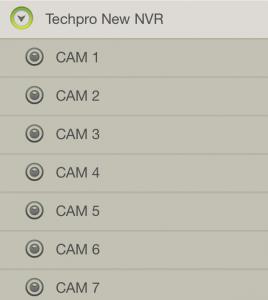 TechproSS Cams Screenshot