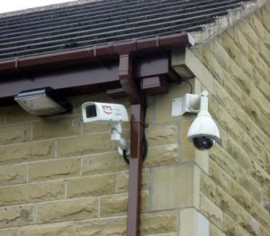 cctv in a residential home