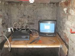 hide DVR In Basement