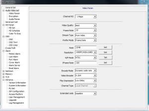 Video Parameters 1Major