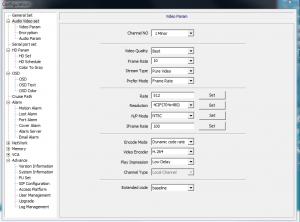 Video Parameters 2Major