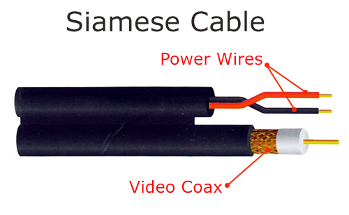 cctv installation and wiring options siamese cable
