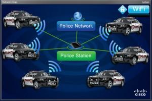 police car wifi