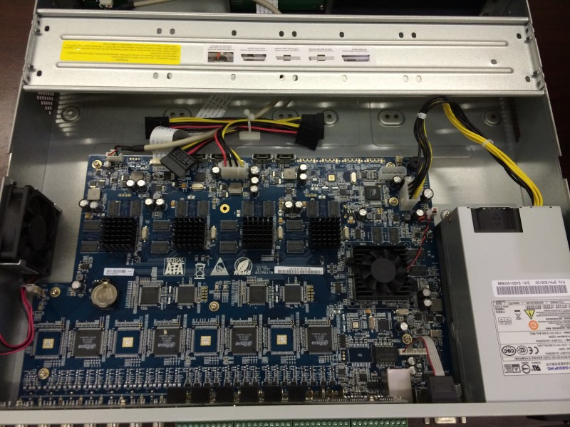 Tribrid DVR Inside Hardware