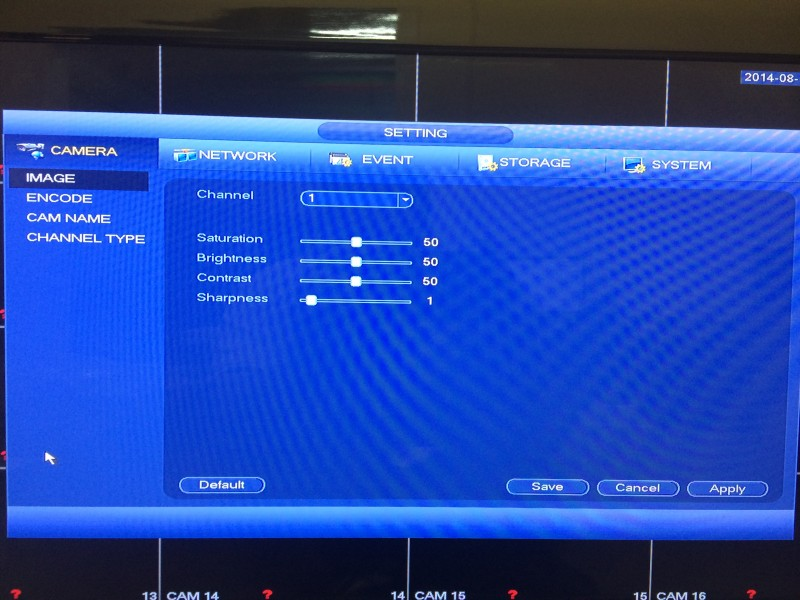 Tribrid DVR Menu1