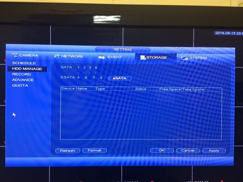 Tribrid DVR Menu11