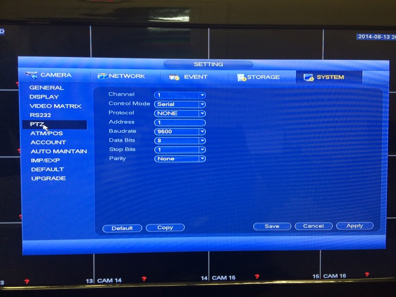 Tribrid DVR Menu15