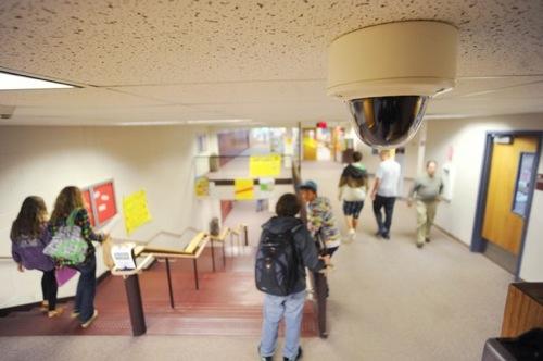 surveillance cameras in schools