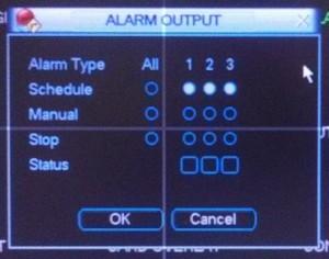 Alarm Output