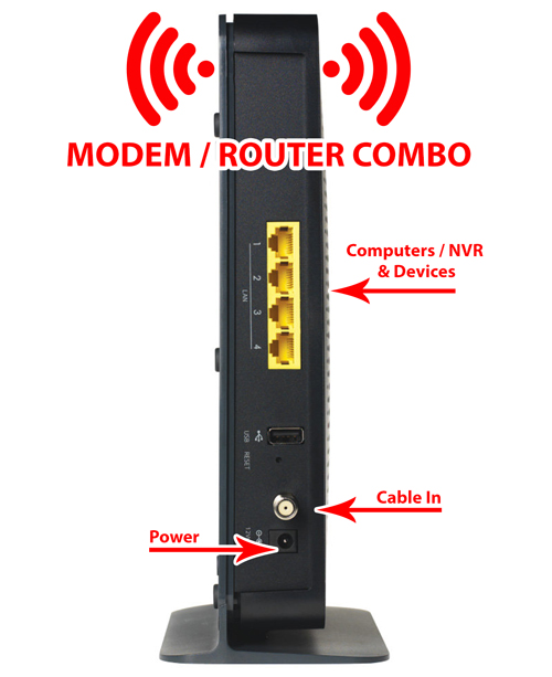 Modem / Router Combo