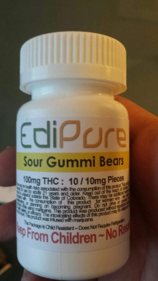 thc gummy bears