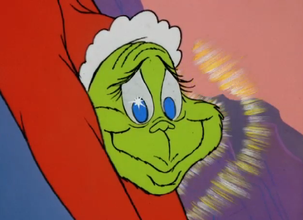 Happy grinch