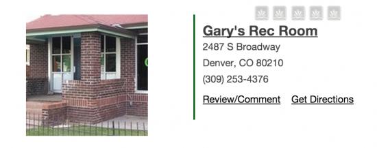 G'Spot - Gary's Rec Room