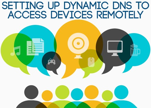 using dyndns to access devices remotely