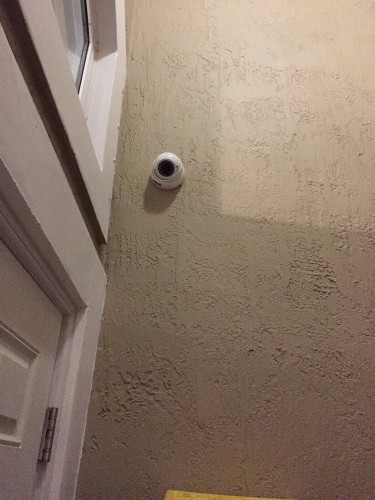 Dome Camera Installed