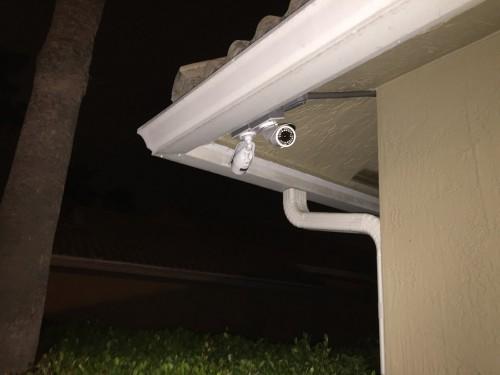 CCTV Bullet installation