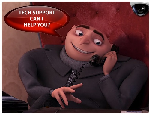 Technical Support Might Be the Most Important Part of your Security Camera System!