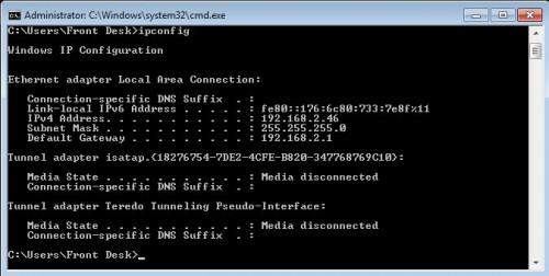 command_ipconfig
