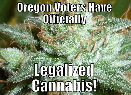 Recreational Marijuana in Oregon?