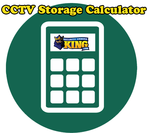 CCTV Storage Calculator