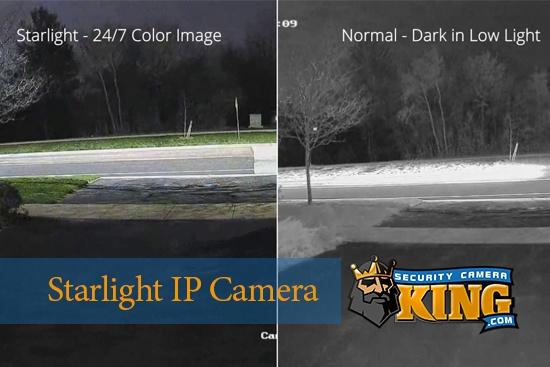 Starlight IP Camera