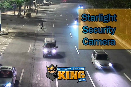 Starlight Security Camera