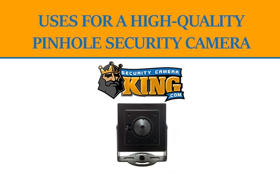 High Quality Pinhole Camera