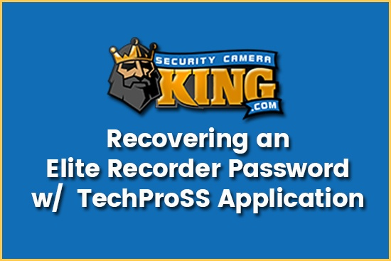 Elite Recorder Password