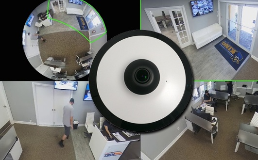360 Fisheye Security Camera