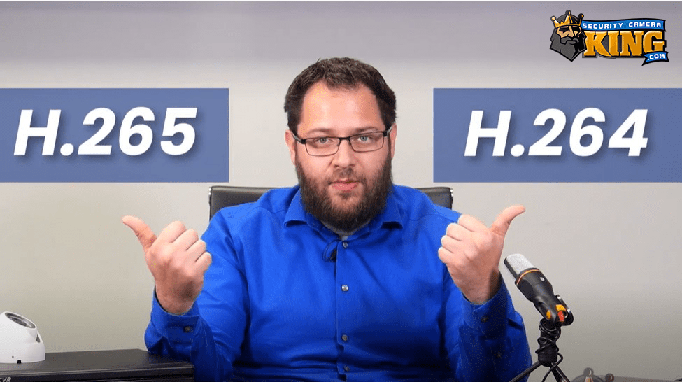 What's the difference between H264 and H265