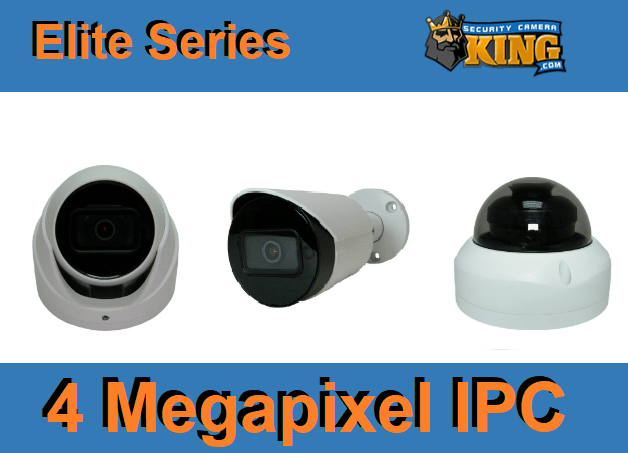 4 Megapixel IP Camera Series TOP