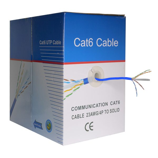 1000 foot UTP CAT6 Cable (Blue)