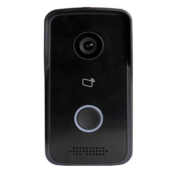 1MP Elite WiFi IP Black Video Door Bell Security Camera