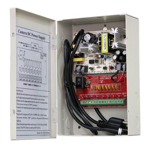 8 Channel Power CCTV Power Distribution Box