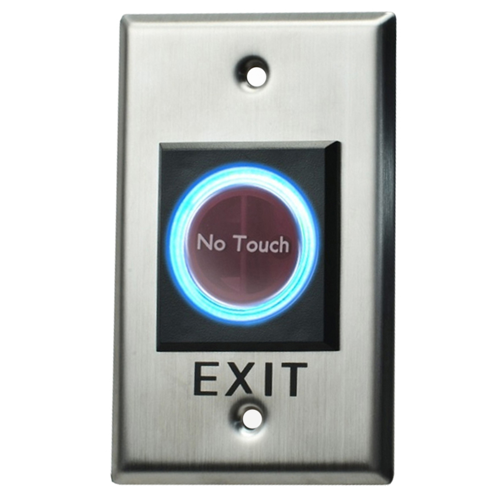 DX Series Small Stainless Steel Infrared Luminous Exit Button