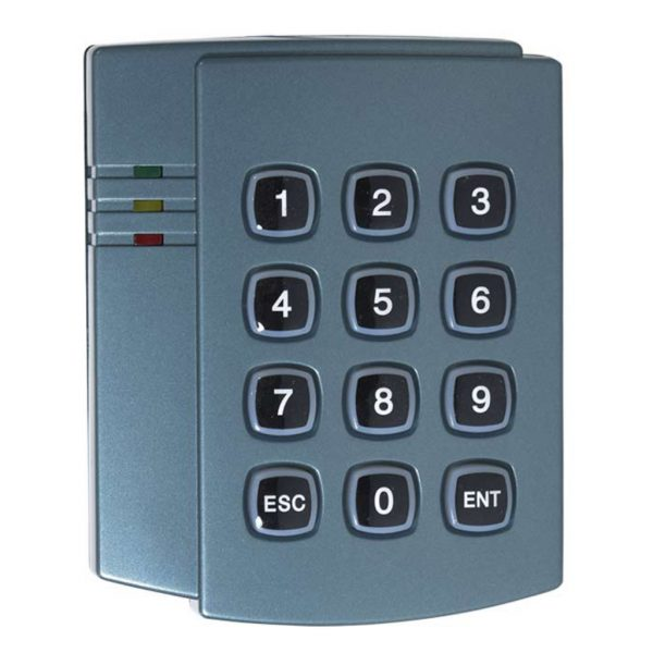 DX Series Weather Resistant 125MHz Keypad Access Control Reader