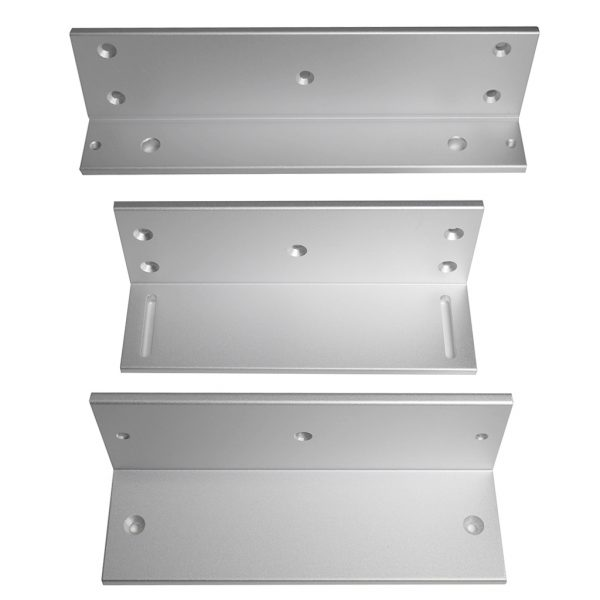 DX Series Z and L Brackets for 1200lb Inward Swing Door