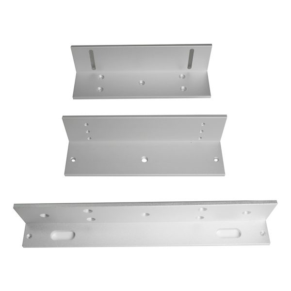 DX Series Z and L Brackets for 600lb Inward Swing Door